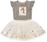 Disney Disney's® Beauty and The Beast Princess Belle Graphic-Print Tutu Dress, Toddler & Little Girls (2T-6X)