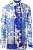 Versace modern Baroque shirt - men - Silk - 42