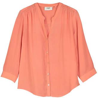 Pyrus - Jamie Silk Blouse - small - Orange