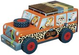Crocodile Creek Safari Truck 24 piece Jigsaw Vehicle Play Set Puzzle