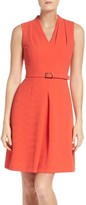 Adrianna Papell Women's Cameron Belted Dress