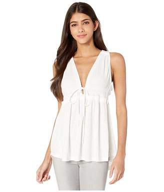 Free People Beach Bound Tank (Ivory) Women's Sleeveless