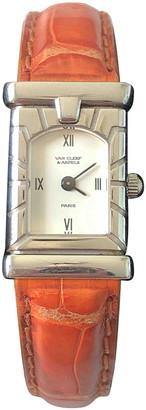 Van Cleef & Arpels Orange Steel Watches