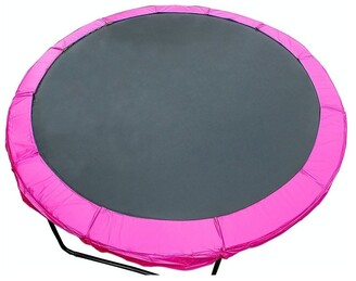 Kahuna Pink 10ft Replacement Reinforced Outdoor Round Trampoline Spring Pad