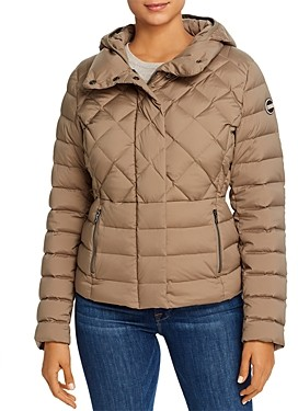 Colmar Hooded Short Down Coat