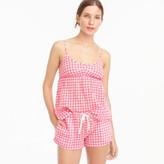 J.Crew Gingham pajama short