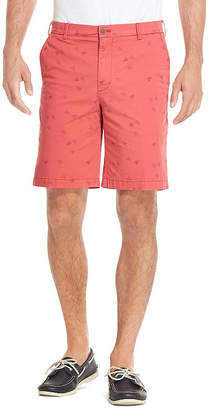 Izod Saltwater Mens Mid Rise Stretch Chino Short