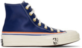 Converse Blue Breaking Down Barriers Edition Knicks Nathaniel Clifton Chuck 70 High Sneakers
