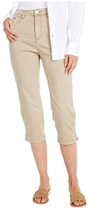 FDJ French Dressing Jeans Solid Cool Twill Suzanne Capris in Jute (Jute) Women's Jeans