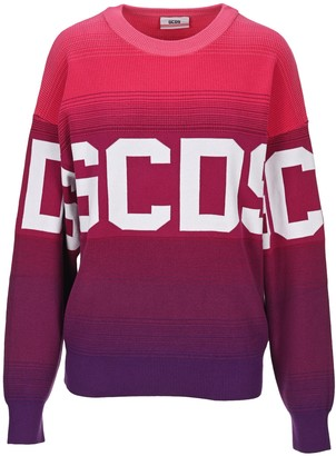 GCDS Oversized Logo Knitted Jumper