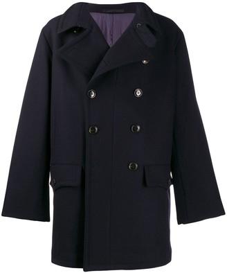 Giorgio Armani Oversized Pea Coat