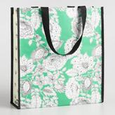 World Market Philipa and Floral Tall Tote