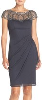 Xscape Evenings Women's Embellished Chiffon Sheath Dress