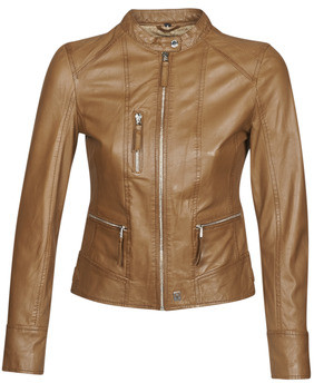 Oakwood EACH women's Leather jacket in Brown