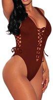 EkarLam® Sexy Bandage Lingerie Bodysuit Lace Nightwear Teddy Nighty Pajamas