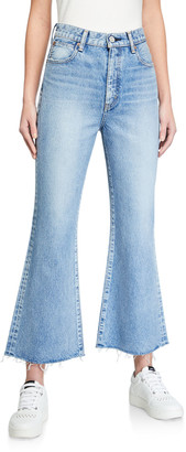 Moussy Sonora High-Rise Flare Jeans