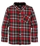 Andy & Evan Little Boy's Plaid Cotton Button-Down Shirt