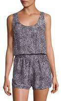 Stella McCartney Mixed Animals & Elastic All in One Printed Coverup