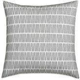 """DKNY City Pleat Embroidered Decorative Pillow, 16"""" x 16"""""""
