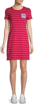 Tommy Hilfiger Striped Cotton T-Shirt Dress