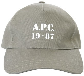 A.P.C. Logo Print Baseball Cap