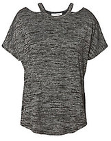 Rag & Bone JEAN Short Sleeve Top With Cut Out