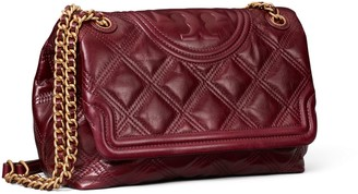 Tory Burch Fleming Soft Glazed Convertible Shoulder Bag