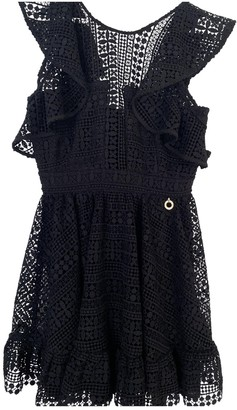 Mangano Black Lace Dress for Women