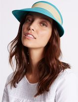 Marks and Spencer Colour Block Visor Hat