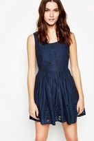 Jack Wills Dress - Bealbury Embroidered Sleeveless