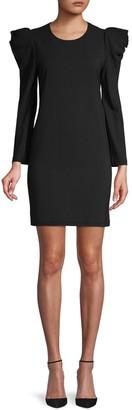 A.L.C. Fiona Puff-Sleeve Mini Dress
