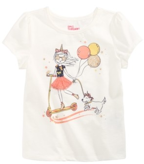Epic Threads Toddler Girls Scooter Girl T-Shirt, Created for Macy's