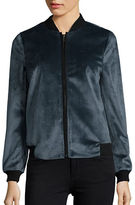 Helene Berman Long Sleeve Bomber Jacket