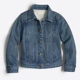 J.Crew Factory Girls' denim jacket