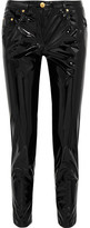 Moschino Vinyl Skinny Pants - Black