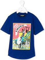 DSQUARED2 printed T-shirt - kids - Cotton - 4 yrs