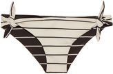 Solid & Striped The Jane tie-side striped bikini briefs