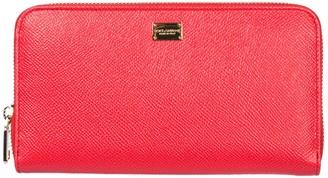 Dolce & Gabbana Logo Plaque Zip Wallet
