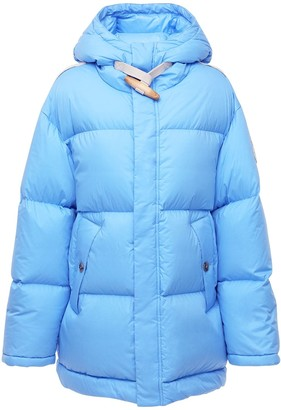 MONCLER GENIUS Jw Anderson Hooded Cotton Down Jacket