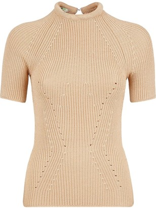 Fendi Knitted Slim-Fit Top