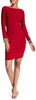 Marina Cowl Back Embellished Dress