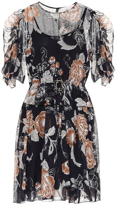 See by Chloe Floral midi dress