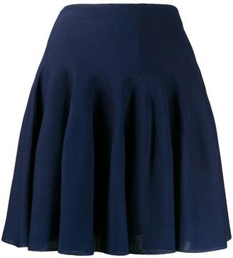 Givenchy pleated high-rise mini skirt