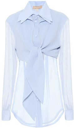 Matã©Riel Tbilisi Layered gauze blouse