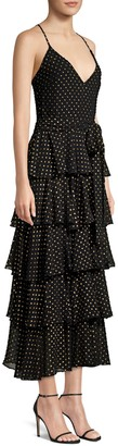 Jay Godfrey Hader Tiered Ruffle Dress