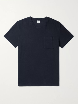 NN07 Clive Waffle-Knit Cotton And Modal-Blend T-Shirt