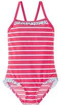 Schiesser Girl's Aqua Badeanzug Swimsuits