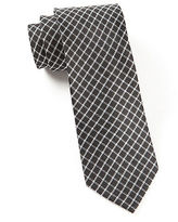 The Tie Bar Silk Checked Tie