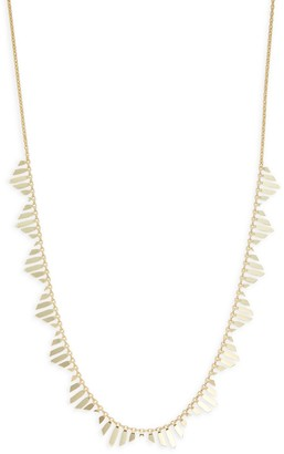 Saks Fifth Avenue Made In Italy 14K Yellow Gold Statement Necklace
