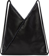 MM6 MAISON MARGIELA Black Faux-leather Backpack